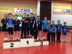 Interclubs régionaux - Podium Cadets